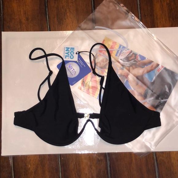 M NWT genuine ROXY dye scooter brief or string swimsuit bikini bottom L S